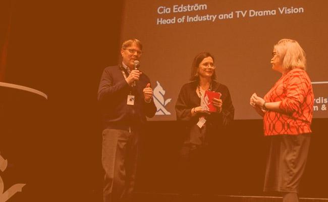 Petri Kemppinen and Cia Edström